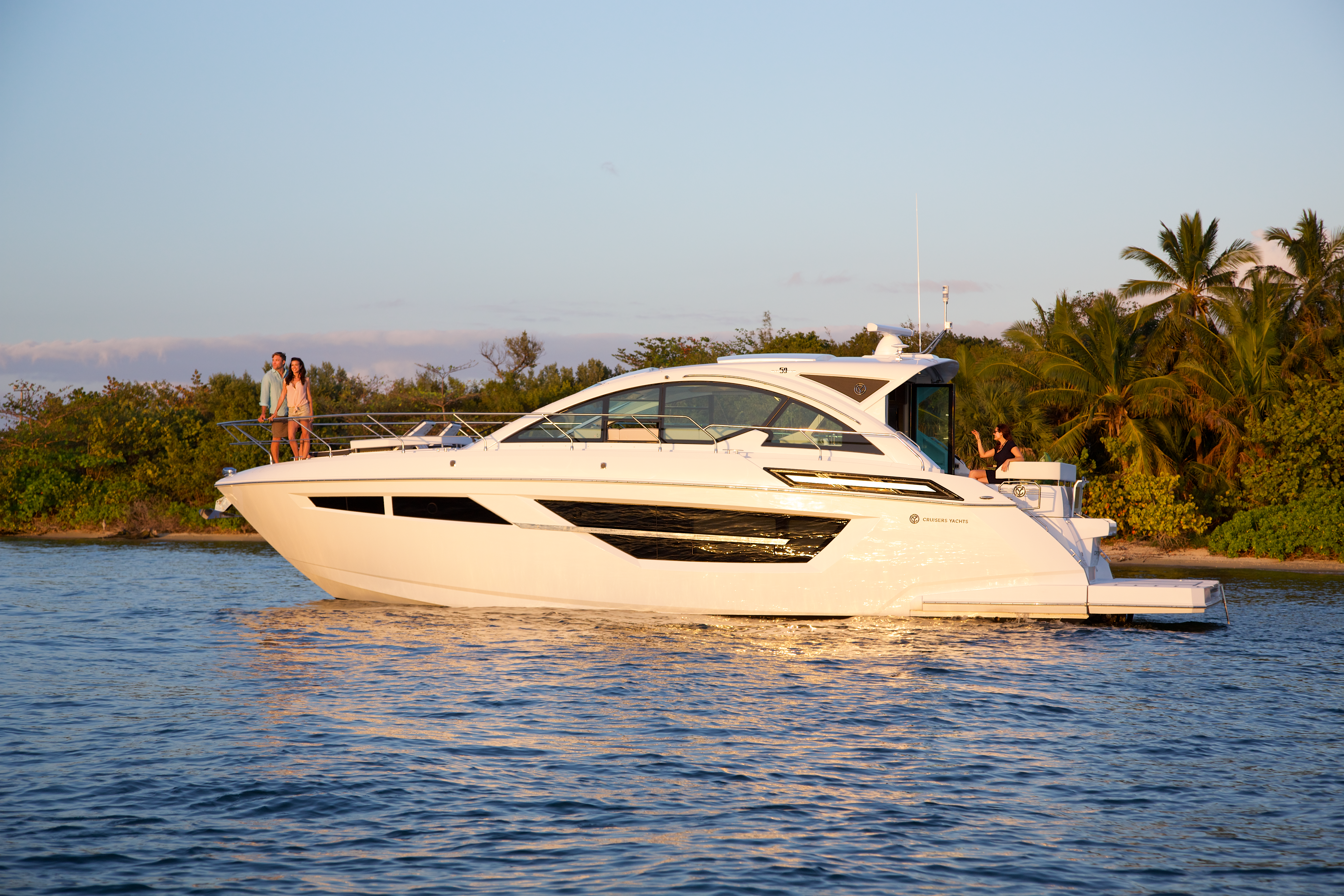 Boat Review: Cruisers 50 Cantius - SHORE Magazine - Boating