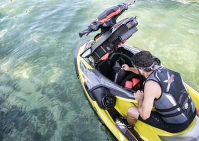 2019 Sea-Doo RXT-X 300 Detail - storage