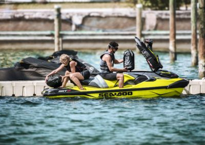2019 Sea-Doo RXT-X 300 Details storage