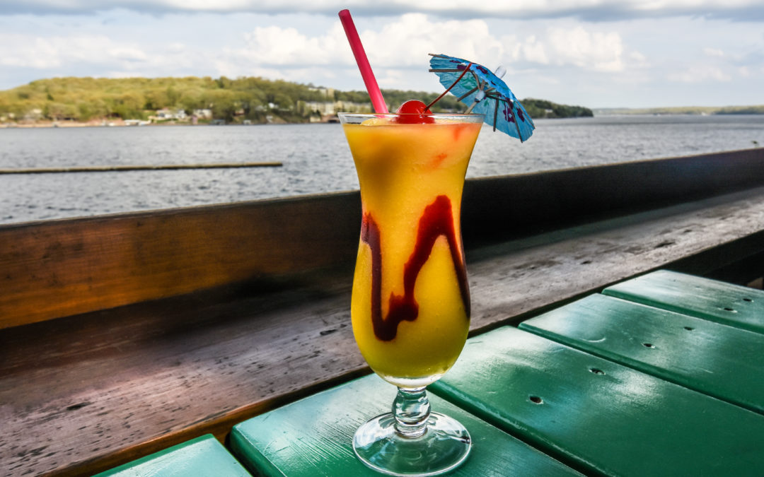 4 Drinks On The Water's Edge  & Where To Find Them