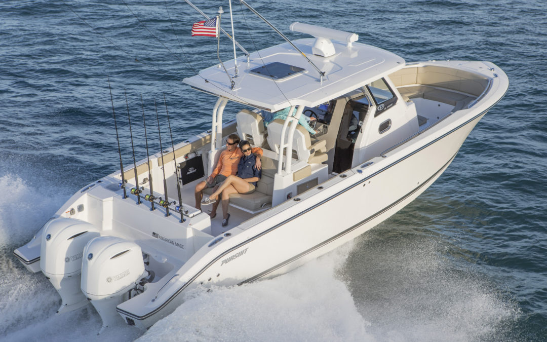 Boat Review: Pursuit S 328