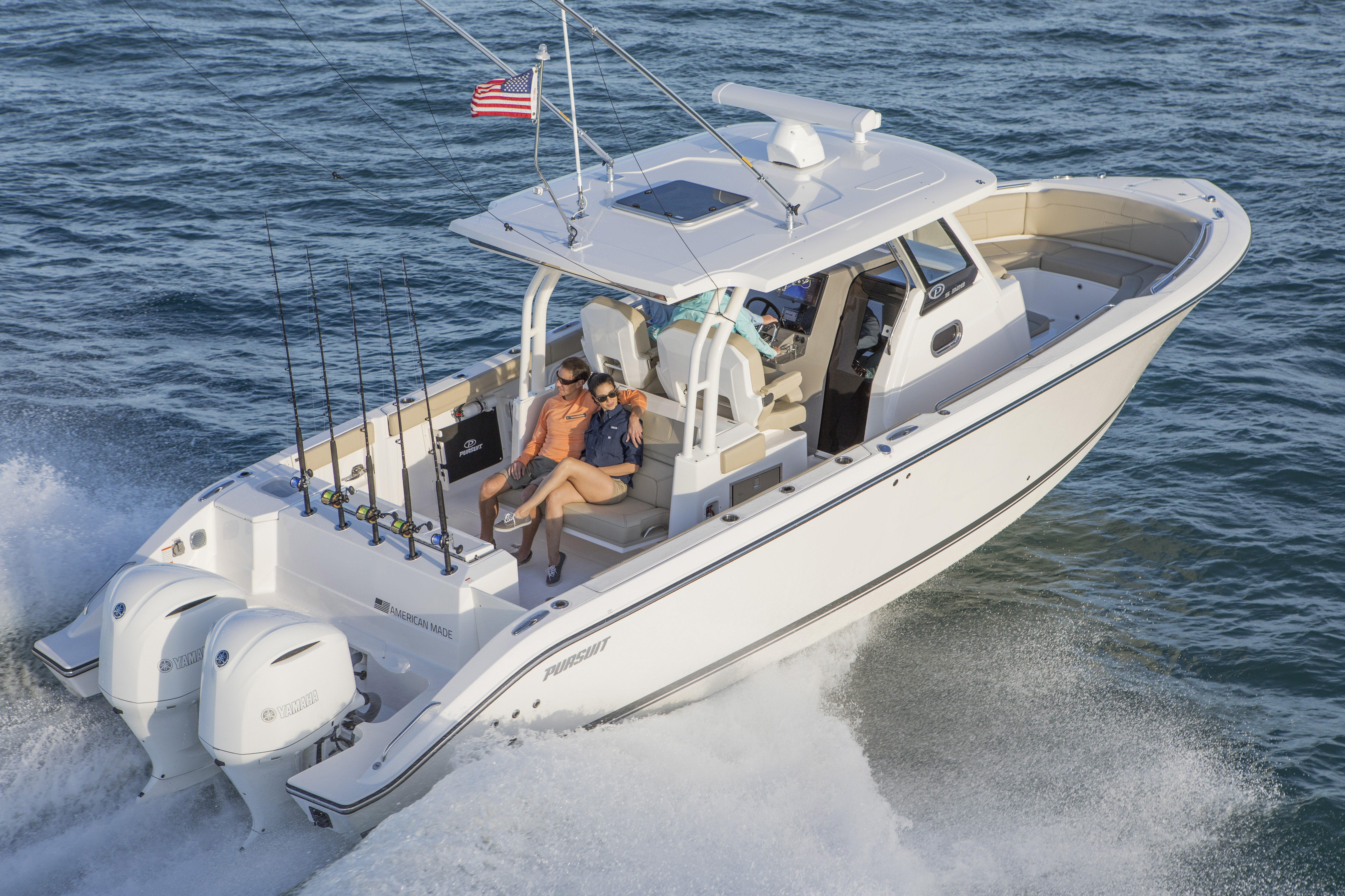Boat Review: Pursuit S 328 - SHORE Magazine - Boating Lake