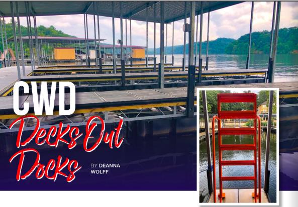 CWD Decks Out Docks