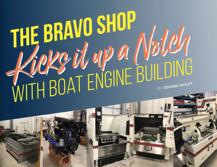 The Bravo Shop Kicks It Up A Notch With Boat Engine Building