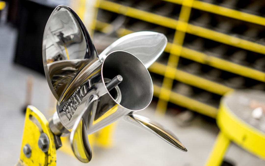 Gaining An Edge On Props: FJ Propeller Midwests High-Tech Shop - SHORE Magazine - Boating Lake