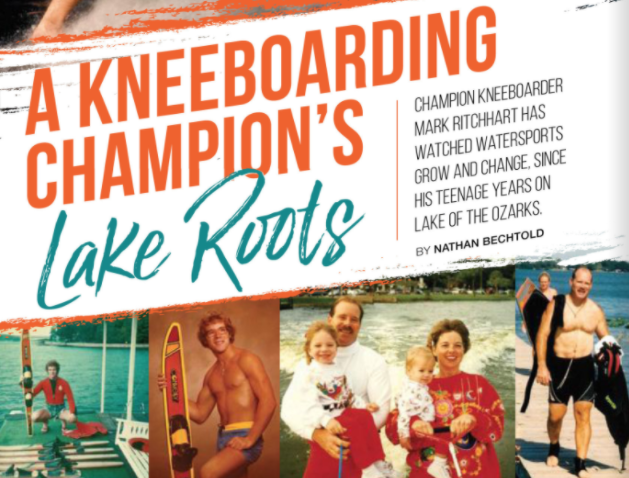 A Kneeboarding Champion's Lake Roots