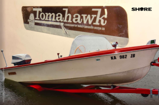 The Harley Davidson Tomahawk Is A Boat From Another Time